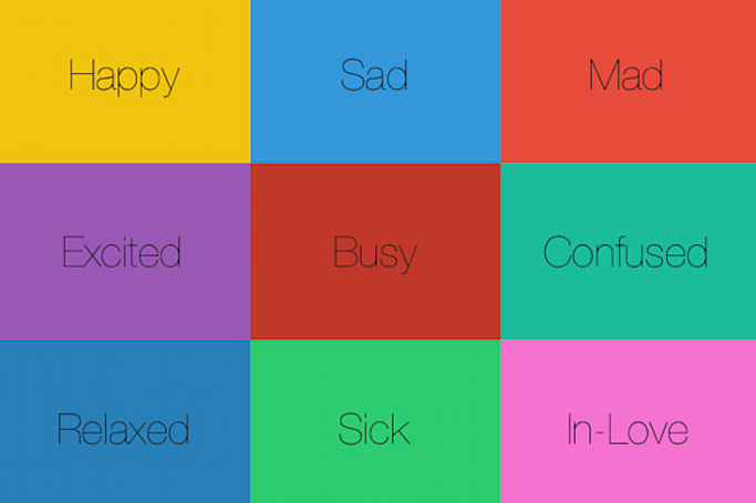 EmoYo shares your emotions with friends and nothing else