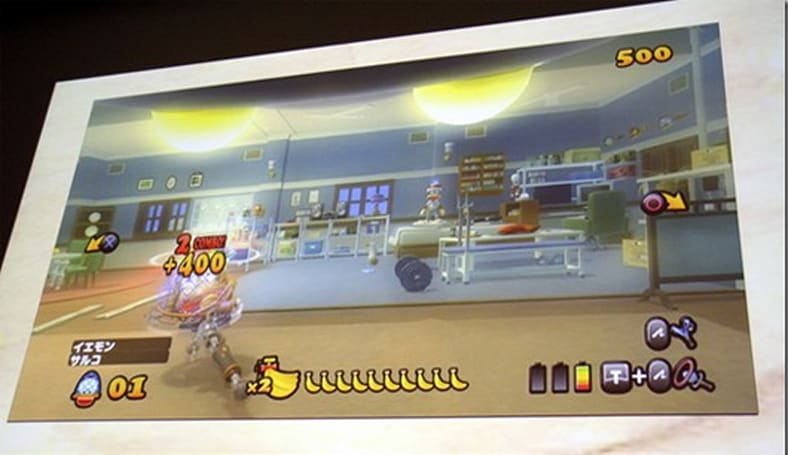 Move-enabled Ape Escape is an on-rails, first-person monkey catcher