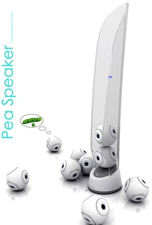 Pea Speaker concept makes multi-room audio easy