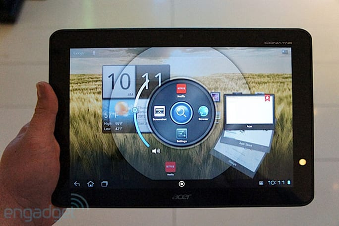 Acer Iconia Tab A200 hands-on (video)