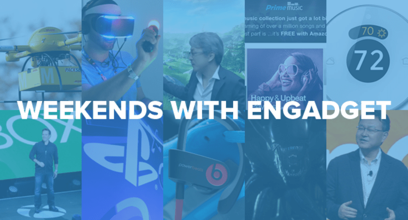 Weekends with Engadget: E3 2014, getting sweaty with Sony's Project Morpheus and more!