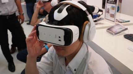 例大祭:Galaxyブースでは仮想現実ゴーグル Gear VR体験に行列。担当者『本気で売っていきたい』#egfes