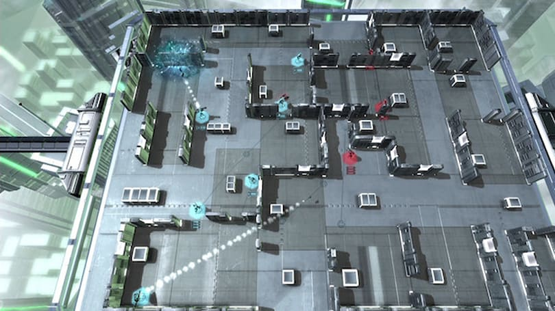 Frozen Synapse Prime flanks an arena, heads to Steam