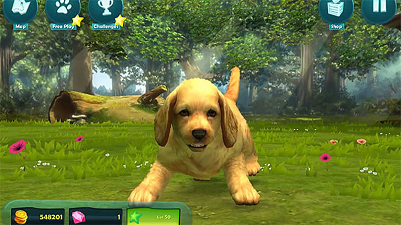 Kinectimals Unleashed supplies puppy hijinks to Windows 8