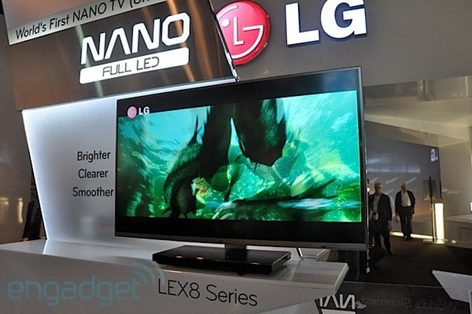 LG LEX8 'Nano LED' TV eyes-on