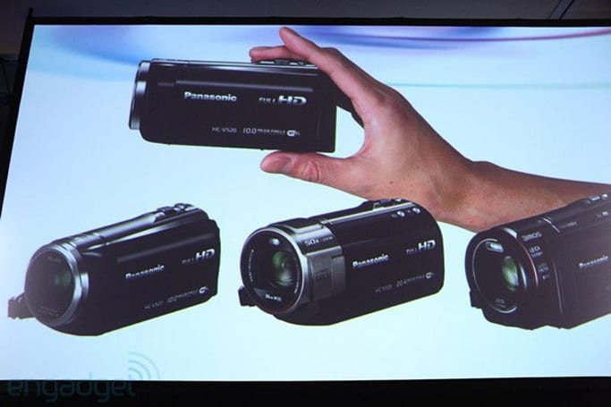 Panasonic's new Lumix and camcorder lineup arrives at CES