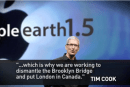 The Onion: Apple to re-arrange earth to match Maps app