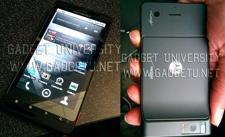 Motorola Droid X stars in its clearest off-the-cuff preview yet (update: comparison shots!)