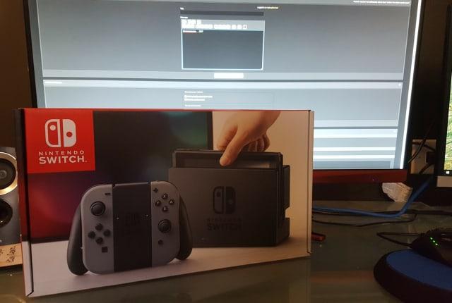 有人提早拿到了 Switch,但没有游戏可以玩