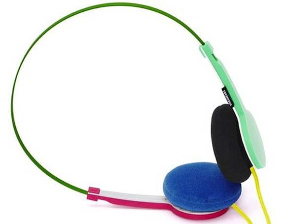 Urban Ears Tanto multicolor headphones are a grab bag of ugly, but still cooler than you