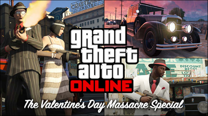 GTA Online Valentine's Day Massacre brakes hearts on Friday