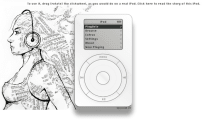Dude recreates first-gen iPod in-browser, won't put 1,000 songs in your pocket