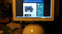 G4 iMac turned into touchscreen monitor, relegated to Windows servitude (video)