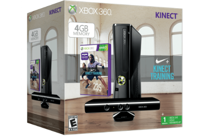 Nike+Fitness Training 360 bundle now shipping, game downloadable on Dec. 25