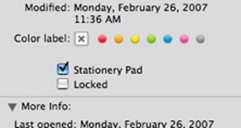 TUAW Tip: Stationery Pad option makes a template of any file