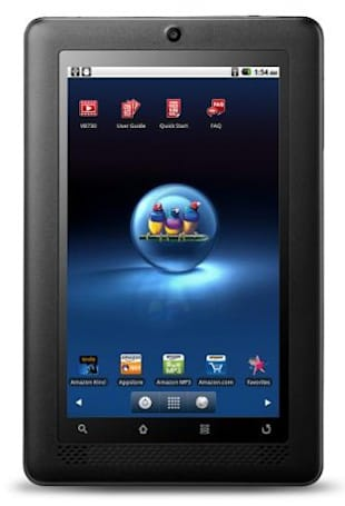 ViewSonic announces $250 ViewBook 730 tablet, steps on Nook Color's turf