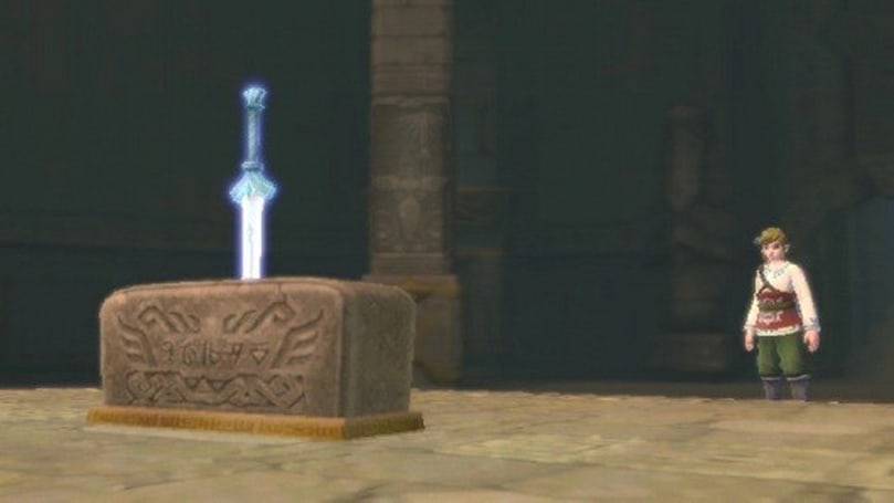 Skyward Sword's language deciphered, turned into font
