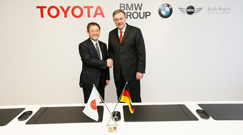 Toyota and BMW make it official, commit to green vehicle technology partnership