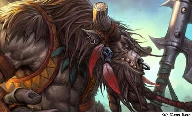 All the World's a Stage: Tauren and timelines in roleplay