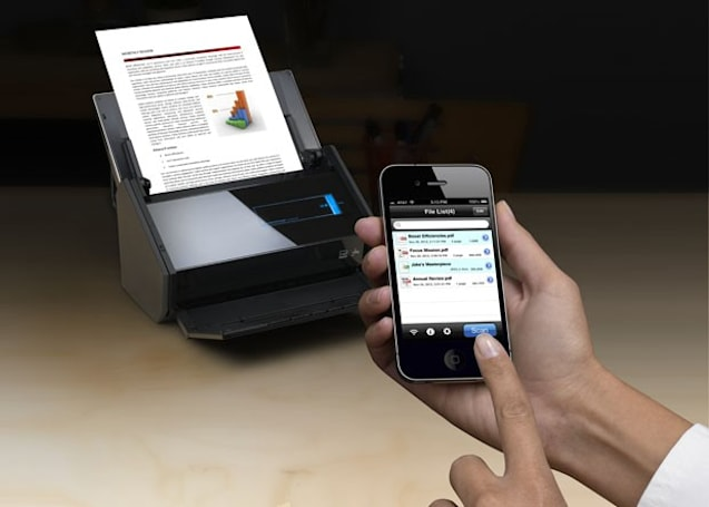Fujitsu outs ScanSnap iX500 scanner with iOS and Android apps, improved speeds