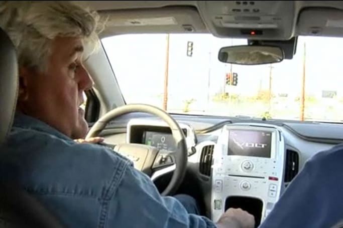 Jay Leno's Chevy Volt still has original tank of gas, 11,000 miles later