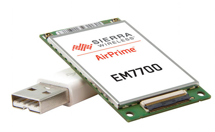 Sierra Wireless outs thinnest-ever 4G LTE module, teases skinny AT&T-ready laptops and tablets
