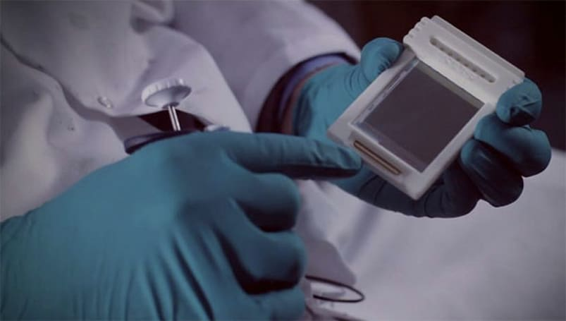 Sharp Labs Europe develops portable microfluidic chip that completes blood tests in minutes