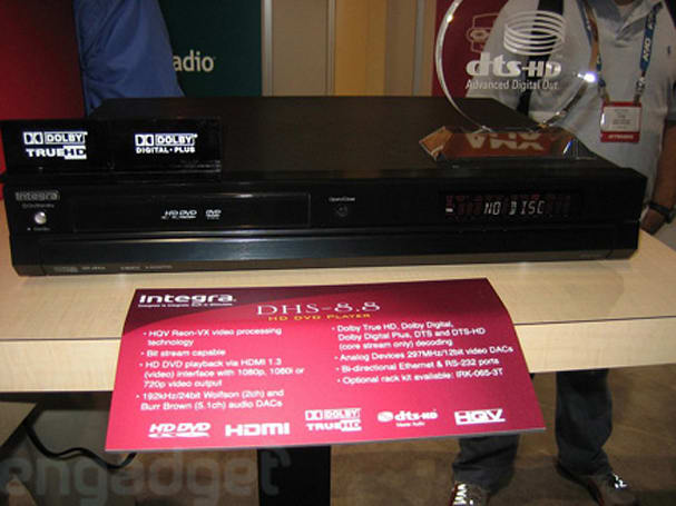 Hands-on with Integra's DHS-8.8 HD DVD player