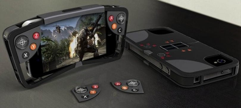FlipSide case for iPhone packs stealthy game controls, plays on solar power (video)