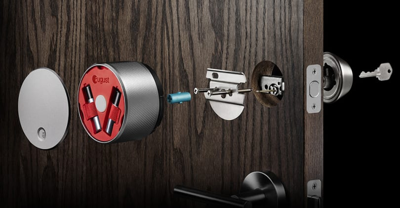 Apple Watch now works with August's designer smart lock