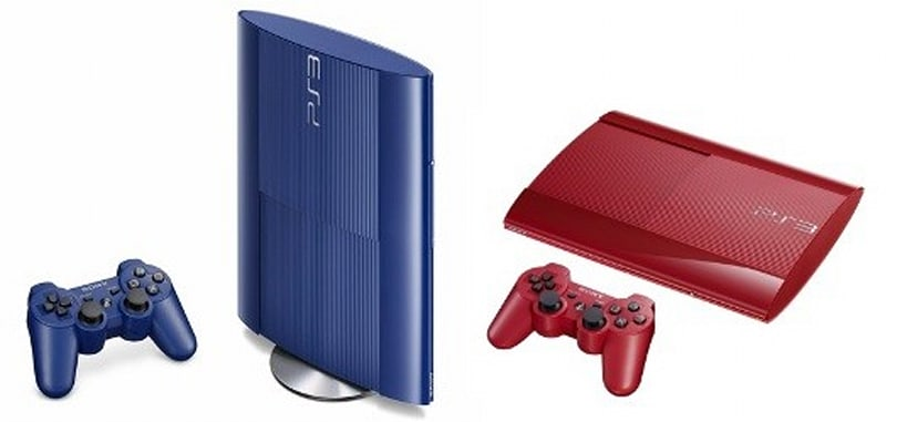 Garnet Red, Azurite Blue PS3 bundles headed to Europe as well