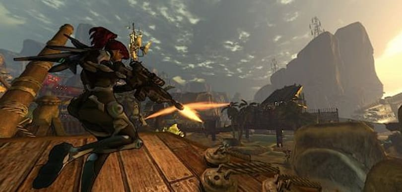 Firefall players can have (and kill) in-game pets