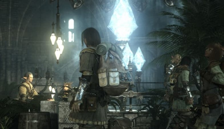 More information on crafting in Final Fantasy XIV