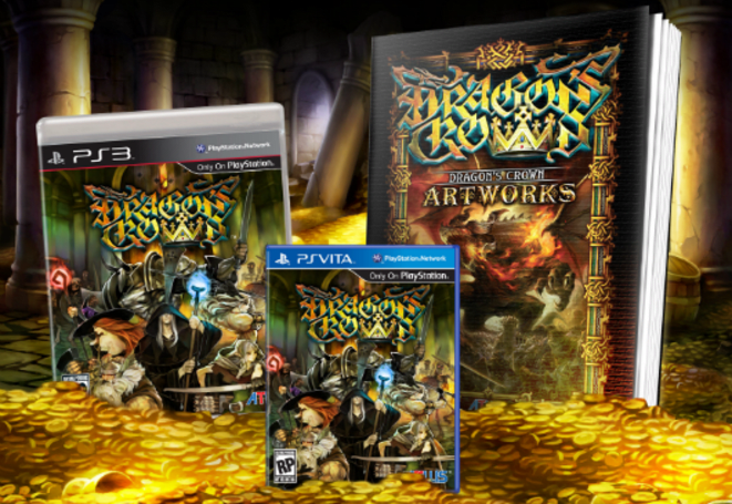 Dragon's Crown pre-orders get this art book