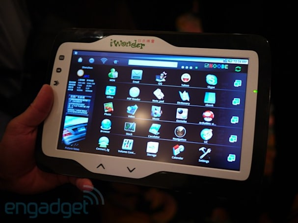 iWonder Android tablet fixes major bug: the logo is right-side-up