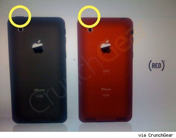 """Leaked"" iPhone images show video chatting, slimmer iPhone?"