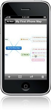 MindMeister for iPhone, mind map in the cloud!