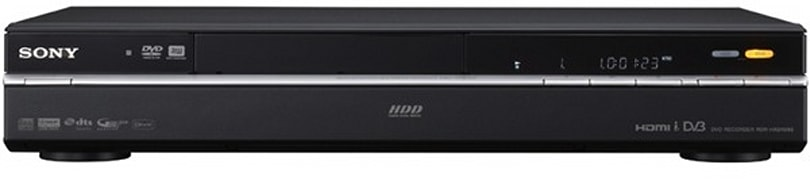 Sony reveals healthy helping of new HDD / DVD recorders