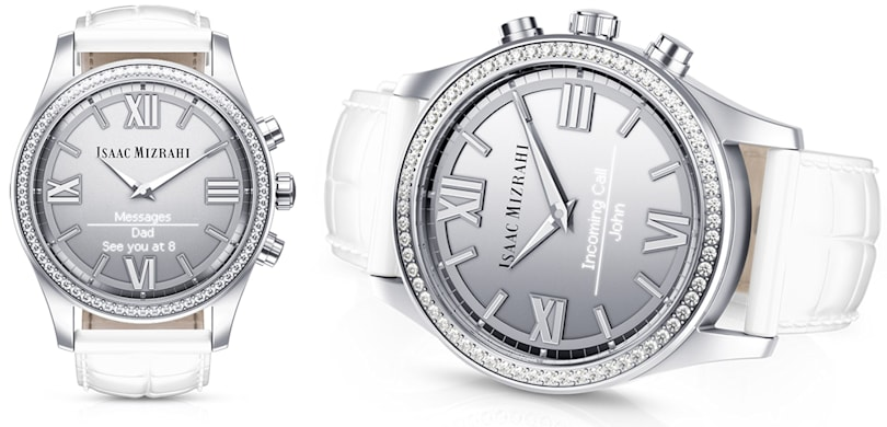 HP's smartwatch has Swarovski crystals and a see-through screen