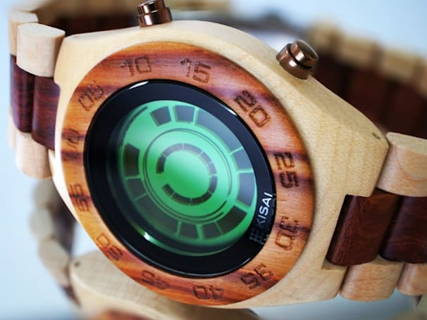 Tokyoflash reissues its Kisai Rogue SR2 and Kisai Stencil watches in wooden form (updated)