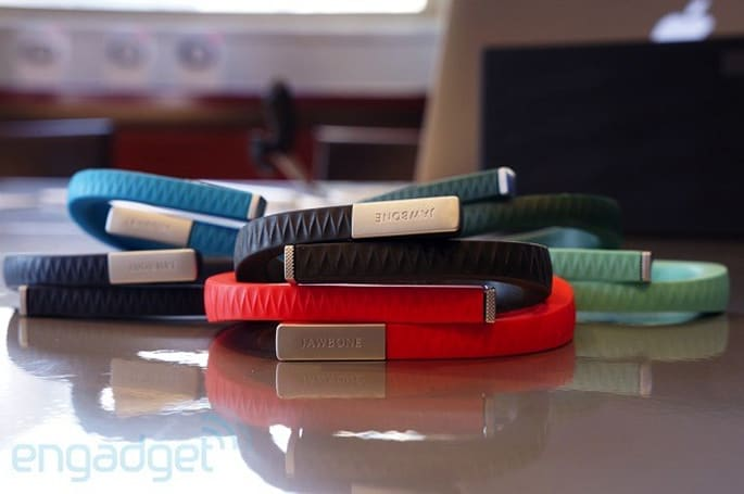 Jawbone starts over, announces a redesigned version of its Up lifestyle-tracking wristband