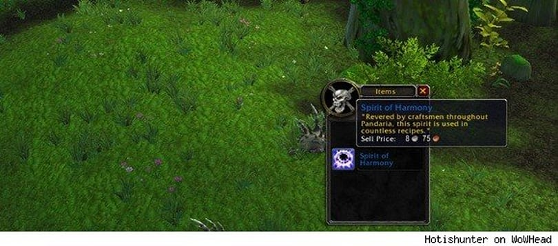 Gold Capped: Spirit of Harmony crafting limitations