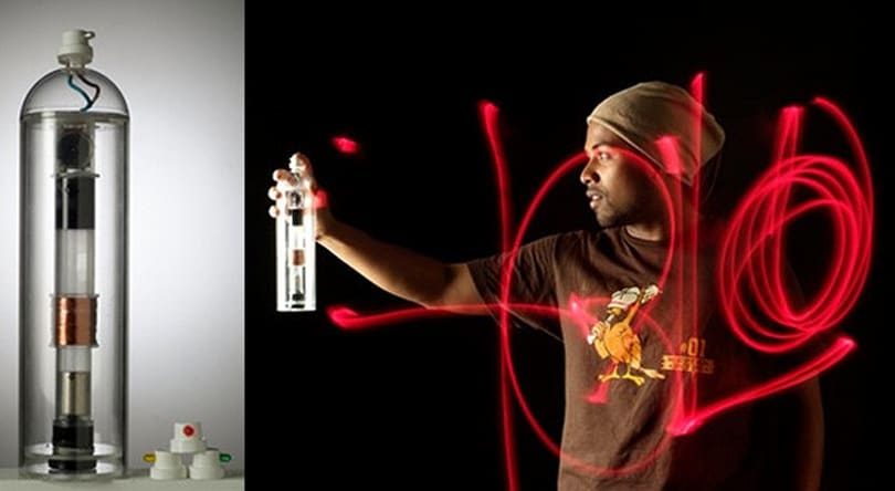 Halo LED spraycan lets you make grafitti the cheap, legal way