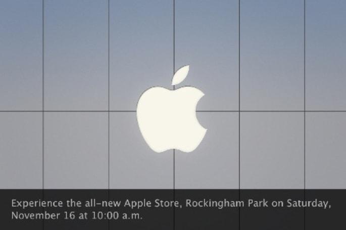 Rockingham Park Apple Store grand re-opening this Saturday