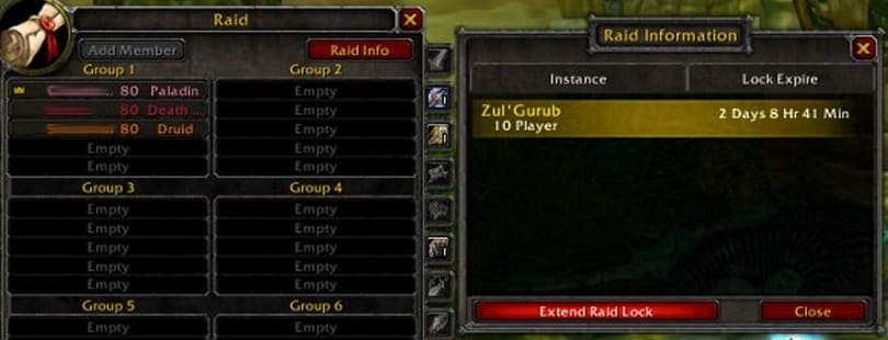 Patch 3.2's raid extension feature clarified