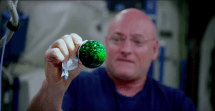 Astronauts capture stunning 4K video of antacid bubbles aboard the ISS