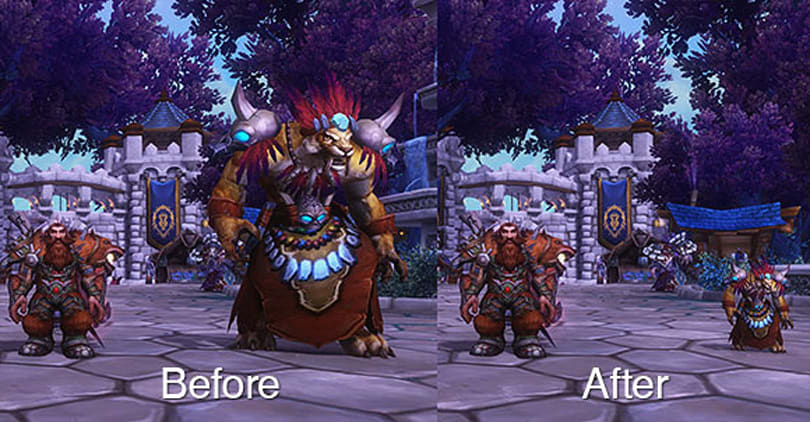 Patch 6.1: Shrink your bodyguard down to size