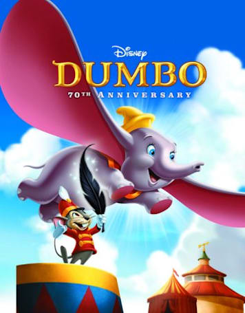 Dumbo 70th Anniversary Blu-ray has a trailer and a release date: September 20th (Updated)