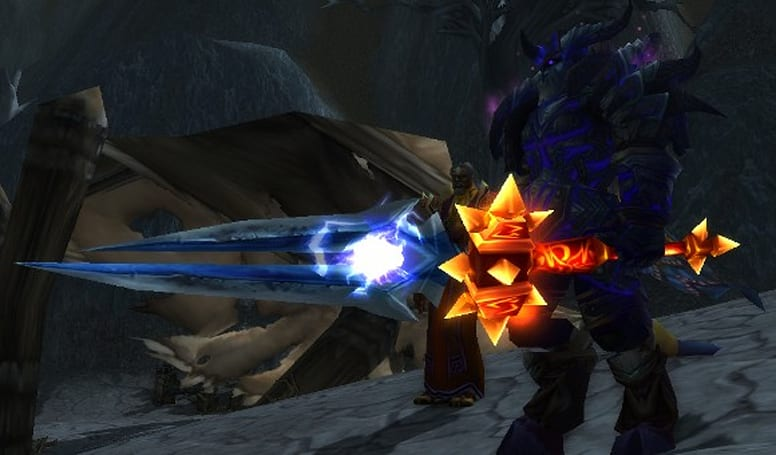 World of Warcraft's peculiar time dilation