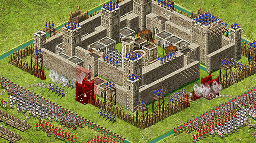 Stronghold Kingdoms Attracts Minecraft Medieval Village Layout